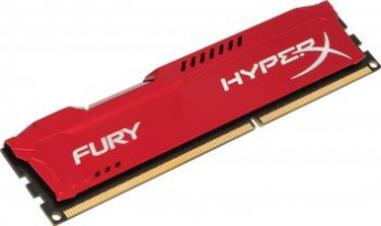 Memorie Kingston RAM , DIMM, DDR3, 8GB, 1866MHz, CL10, HyperX FURY Memory Red, 1.5V