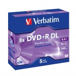 DVD+R Verbatim Double Layer 8X 8.5GB Matt Silver