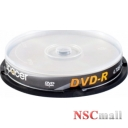 DVD-R 4.7GB/120Min 16x SPACER  10 buc/set