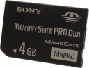 Card de Memorie Sony Memory Stick Pro Duo 4GB - PSP