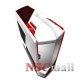 Carcasa  NZXT  Phantom White/Red, SECC Steel EATX Full Tower, fara sursa